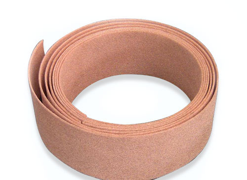 Continuous copper foam