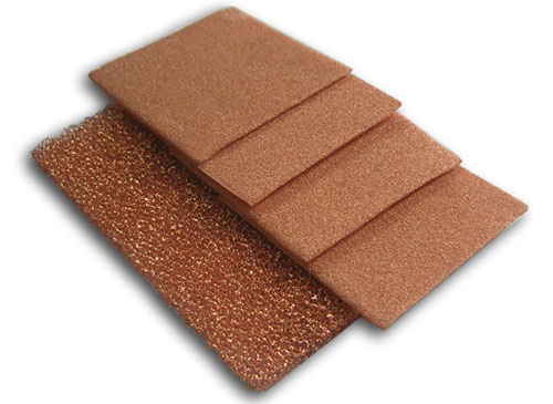 Special typed Copper foam
